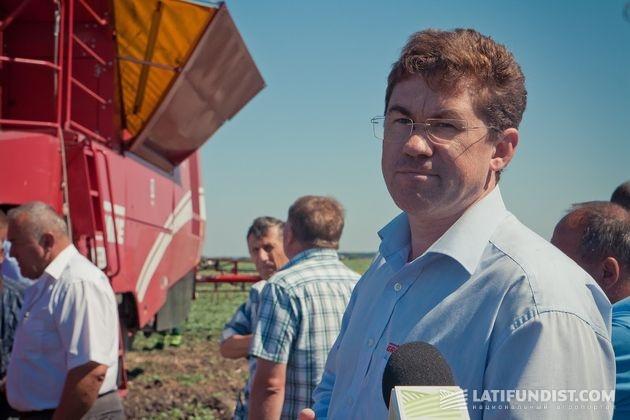 Дмитрий Левичев,представитель компании Grimme