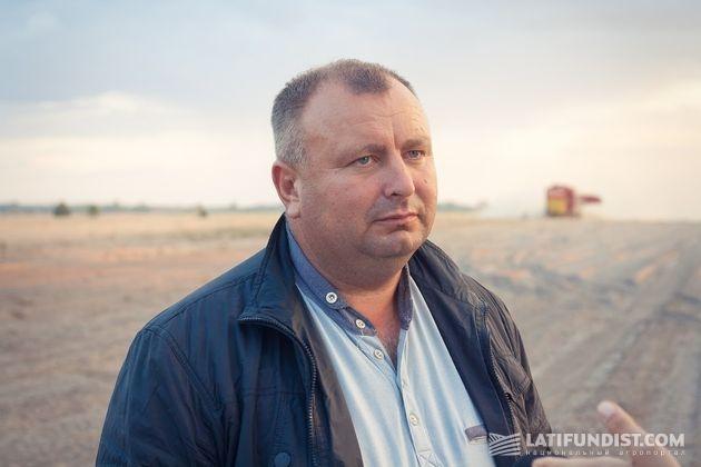 Юрий Примаченко, главный агроном предприятия «Аделаида»