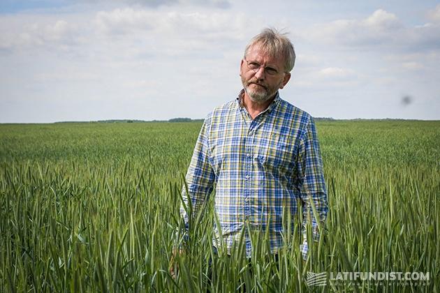 Инвестор племпредприятия, председатель наблюдательного совета компании «Лагрос» Виктор Ланько