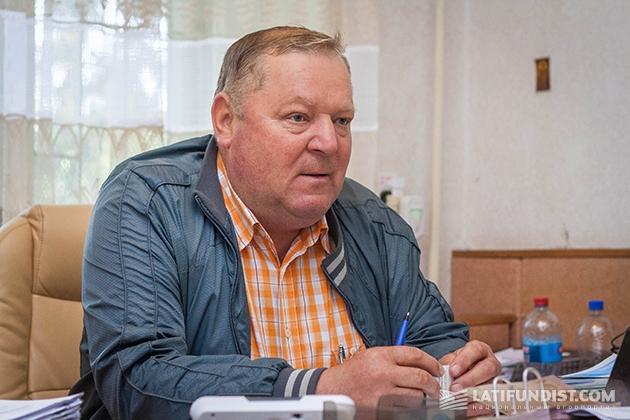 Директор «Черниговское племпредприятие» Григорий Васеко