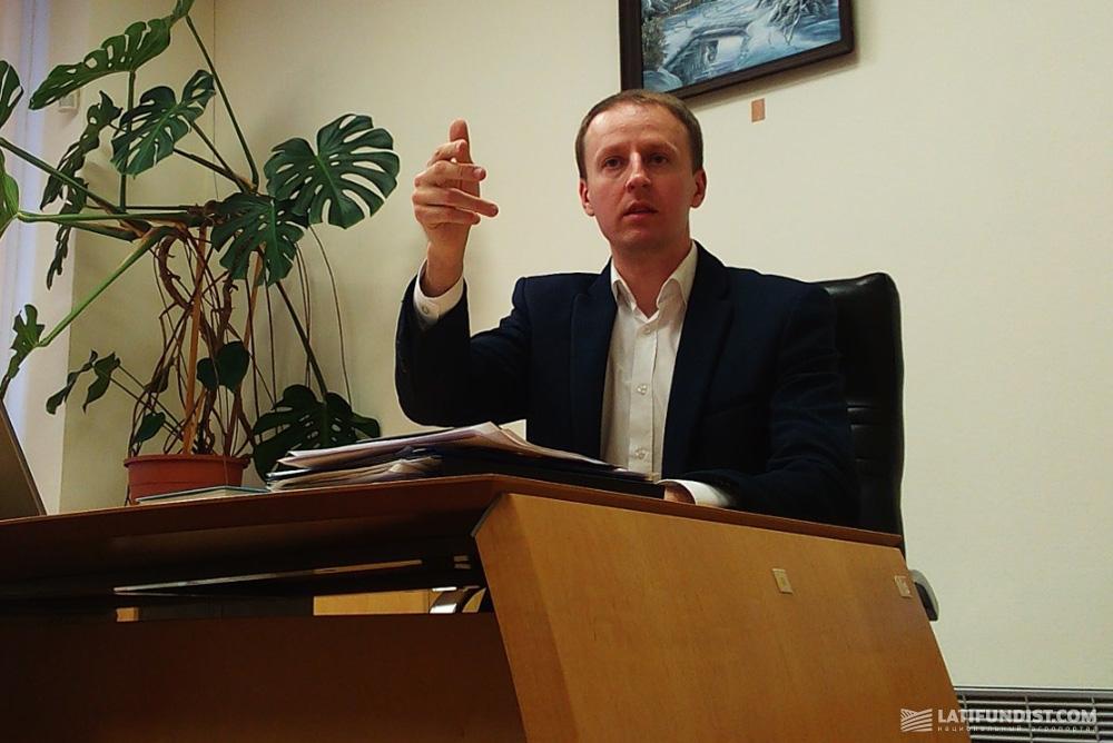 и.о. директора компании-переработчика зерна «Столичный Млын» Валерий Андриянов