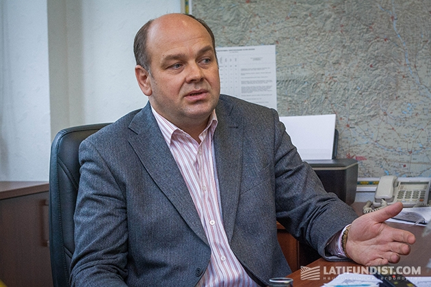 Начальник отдела зерна предприятия «Столичный Млын» Александр Хараузов