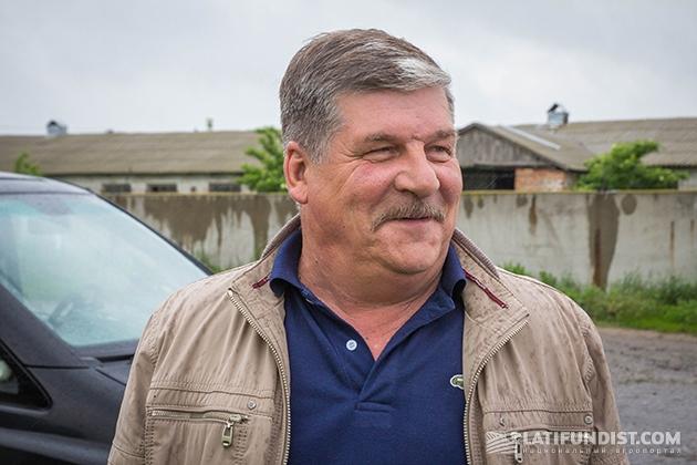 Руководитель Селищенского отделения компании «Агро-С» Сергей Харсун