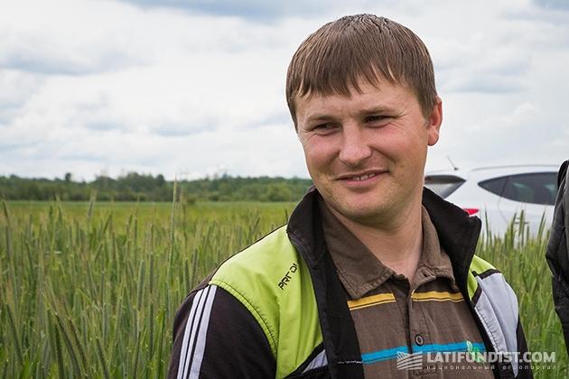 Главный агроном «Жерм» Игорь Войтевич