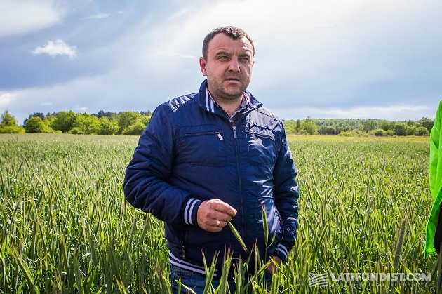 Совладелец предприятия «Агро-Захид» Павел Кушнир