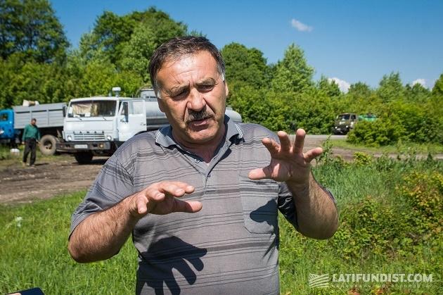 Главный агроном Северного отделения корпорации «Сварог Вест Груп» Филимон Антонюк