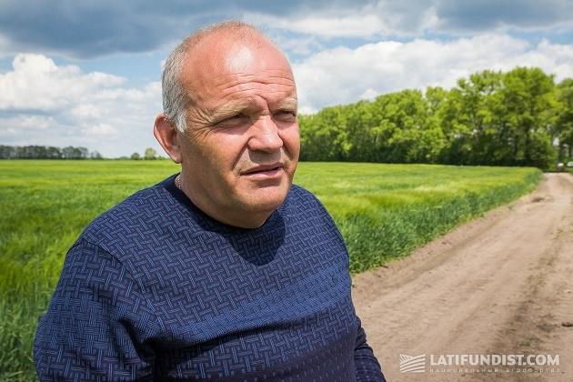 Главный агроном предприятия «Маяк» Владимир Баран