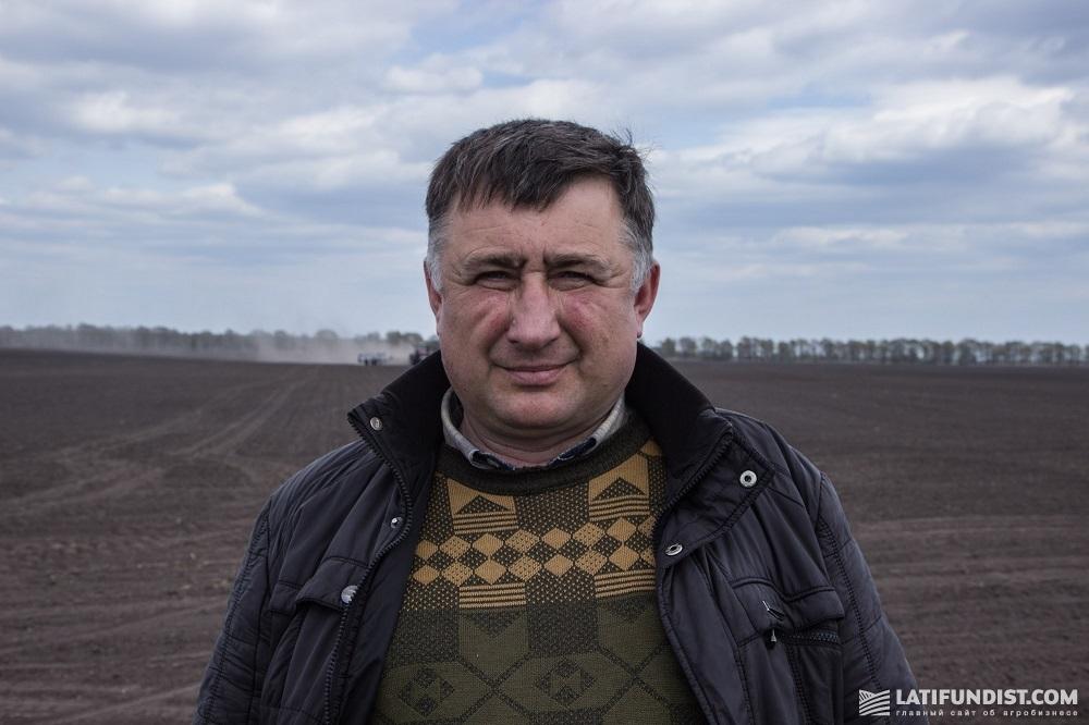 Агроном предприятий «Прохоровское» и «Дружба» Владимир Маринич