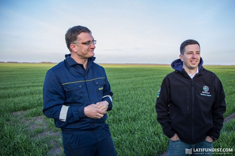 Александр Корогод (слева) и Максим Онученко (справа)