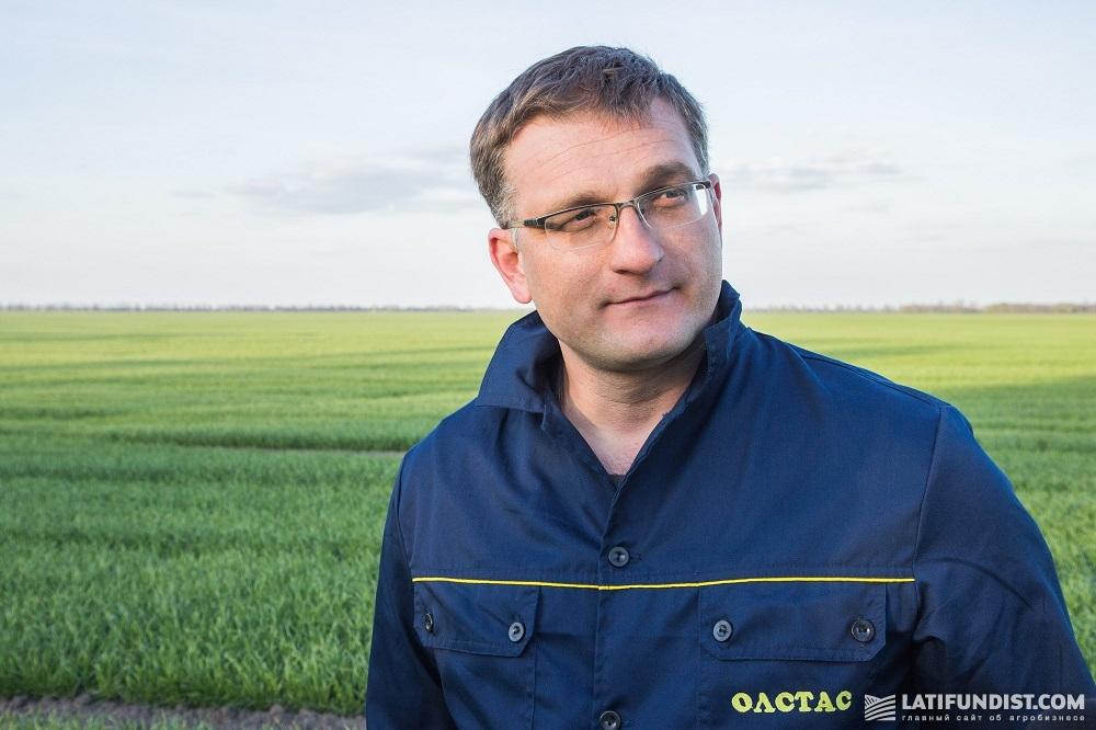 «Олстас Лен» главный агротехнолог Александр Корогод