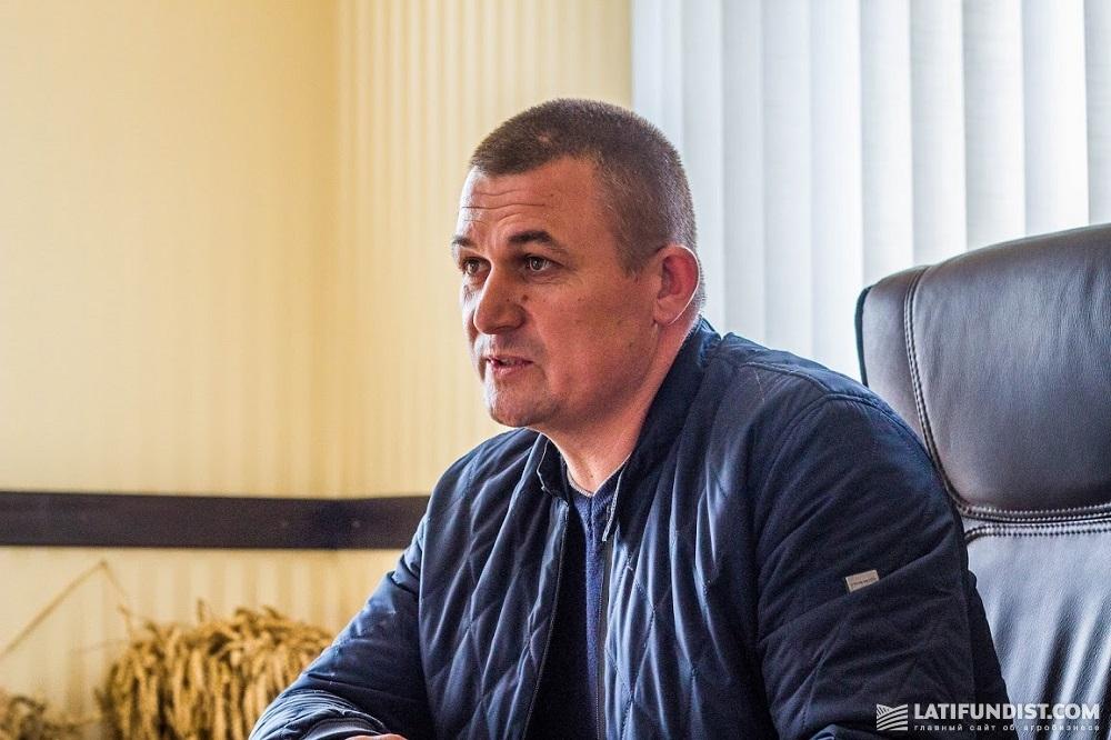 Собственник и директор предприятия «Новоселица» Анатолий Березовский