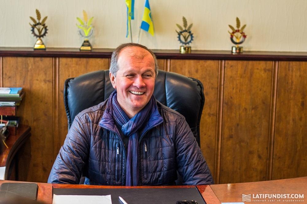 Собственник предприятия «Импак» Сергей Малиновский
