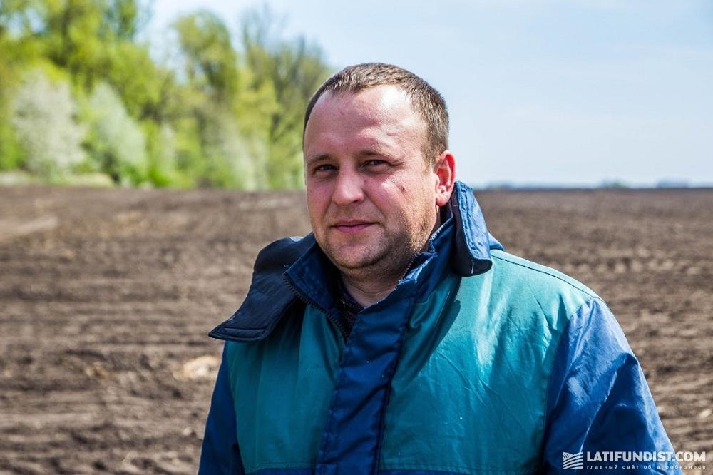 Агроном хозяйства «Калиновский Агрохим» Виталий Бабенко