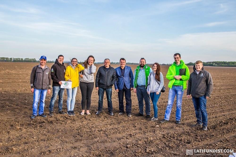 Участники АЭ Посевная 2017