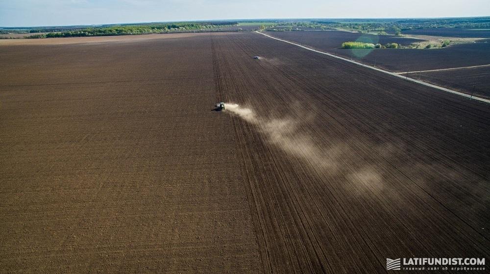 Посевная кампания на полях «Зернопродукт МХП»