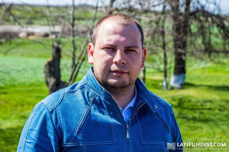 Руководитель Одесского региона «Агриматко-Украина» Антон Болковенко