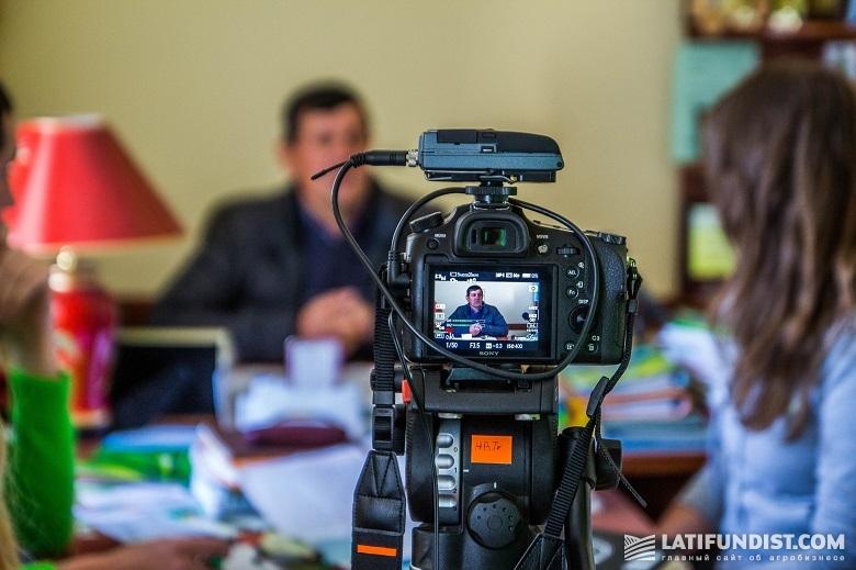 Юрий Яловчук делится с АгроЭкспедиторами мнением об открытии рынка земли