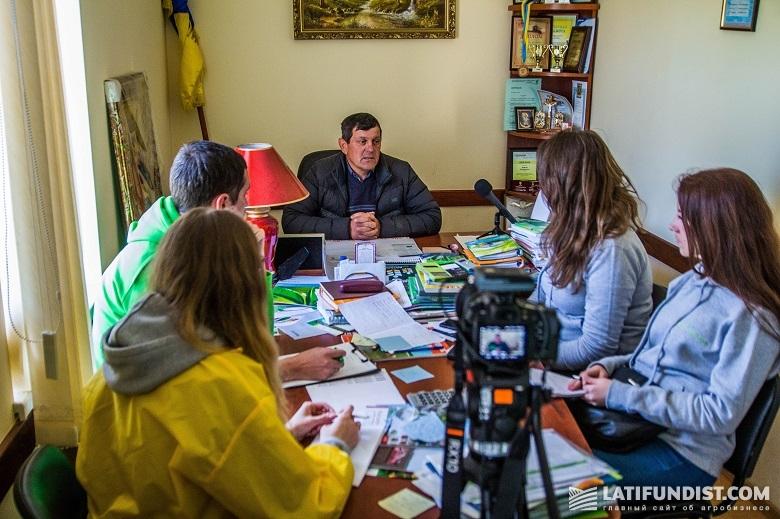 Юрий Яловчук и команда АгроЭкспедиторов