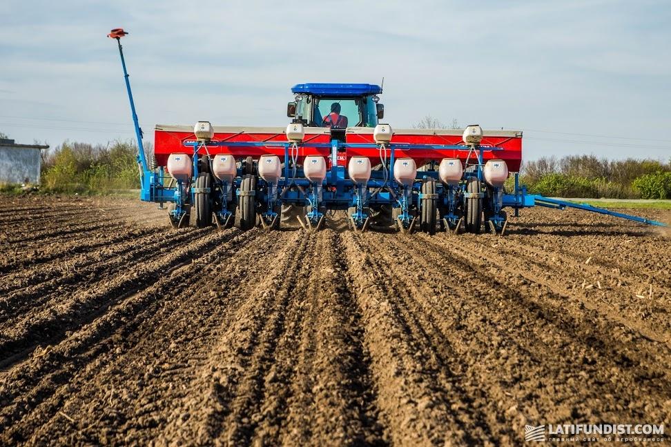 Посевные работы на предприятии «Зернопродукт МХП»