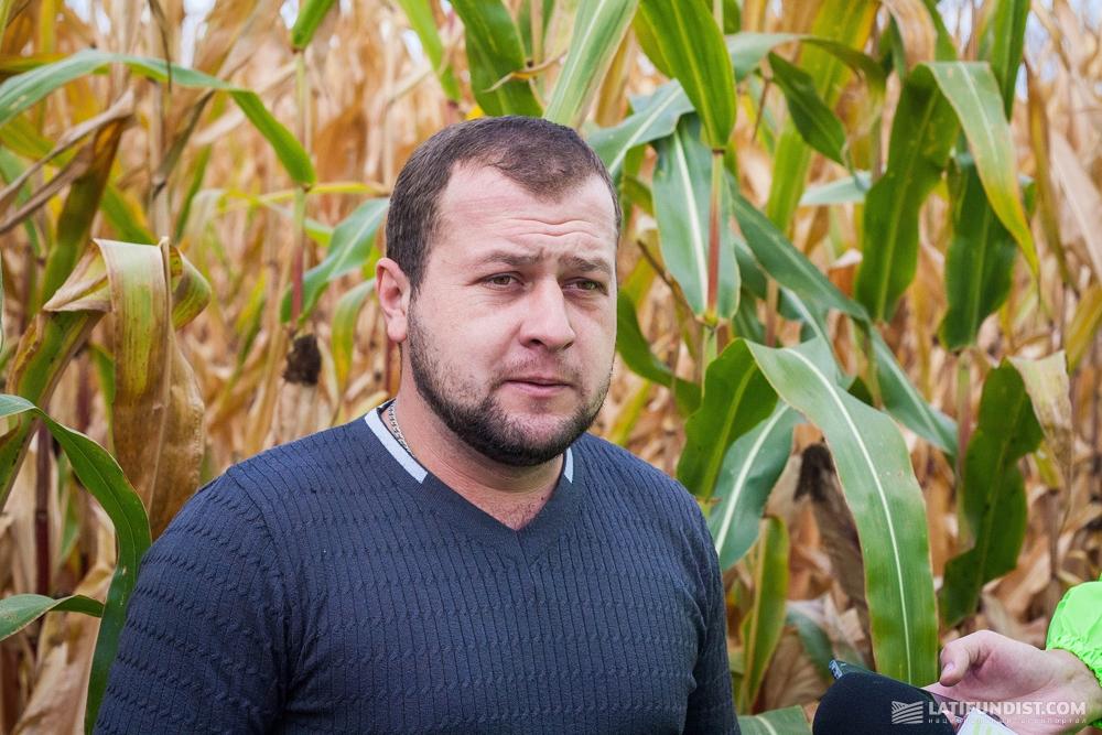 Валерий Любицкий, главный агроном предприятия «Агроинвестконтакт»