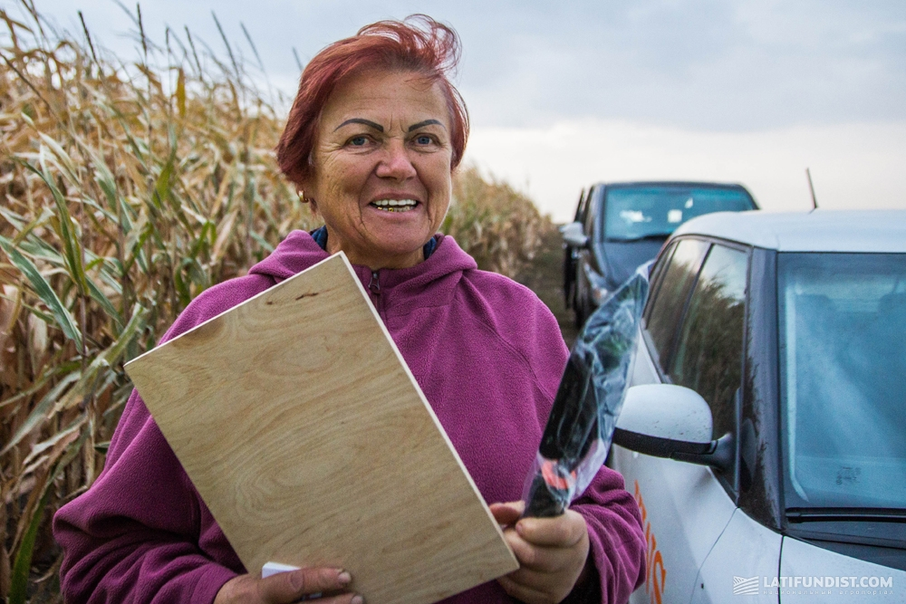 Валентина Халимончук, агроном агрофирмы «Украина»