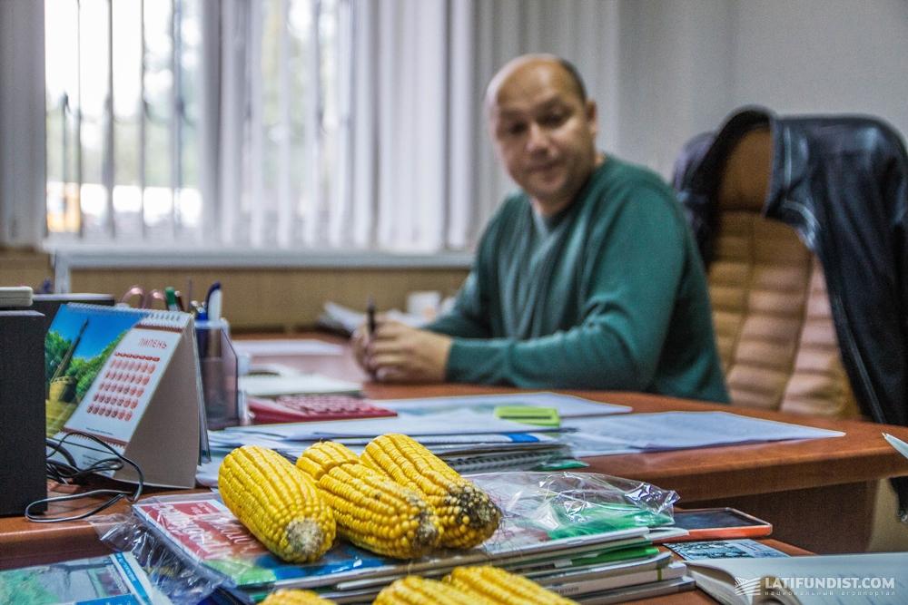В кабинете Вадима Ткаченко