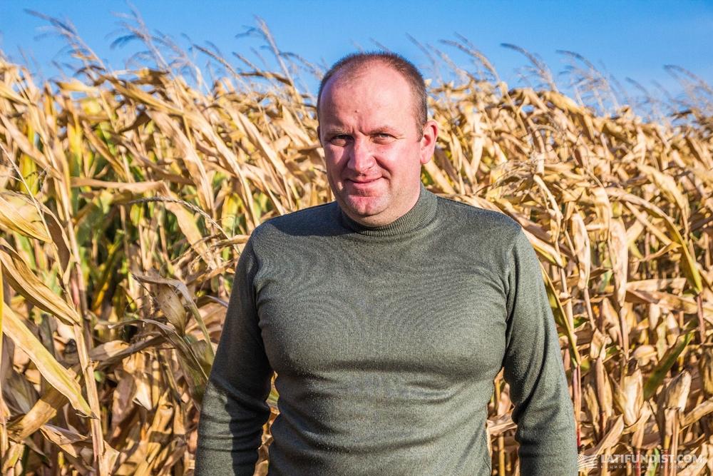 Сергей Мороз, агроном фермерского хозяйства «Им. Шевченко»