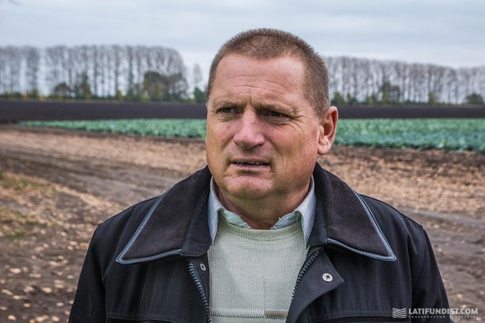 Виктор Скляров, главный агроном предприятия «Агрофирма Беловоды»