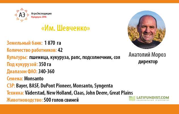Фермерское хозяйство «Им. Шевченко»