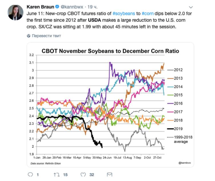 Karen Braun's tweet
