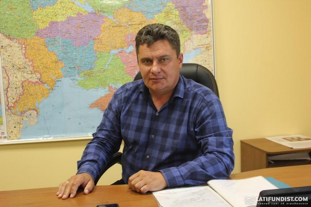 Сергей Середа, шеф-агроном предприятия «Арника»