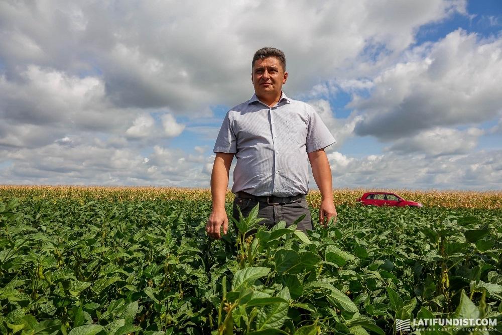 Сергей Середа, шеф-агроном «Арники»