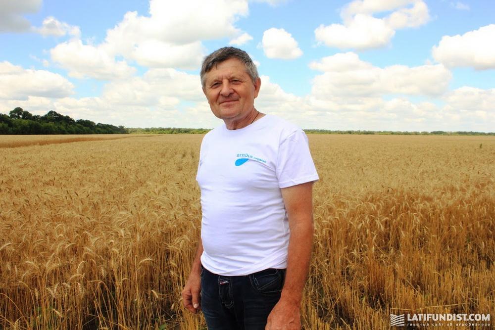 Борис Купенко, главный агроном хозяйства «Новомосковск Агро»