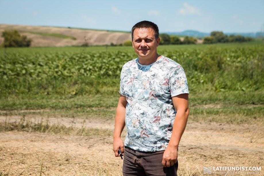 Александр Бондарь, директор хозяйства «Людвиг-Агро» — подразделения «Агро-Эко ХХІ» в Черновицкой области