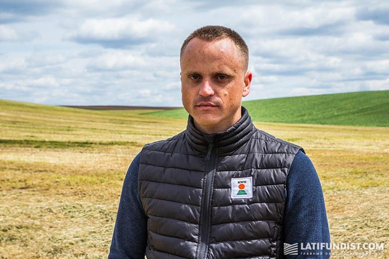 Представитель компании «КВС-УКРАИНА» Игорь Давидюк