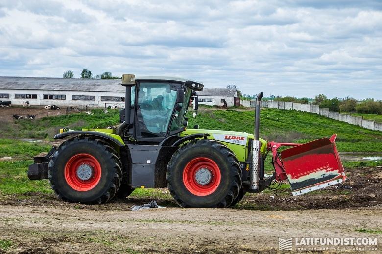Трактор Claas Xerion 3800