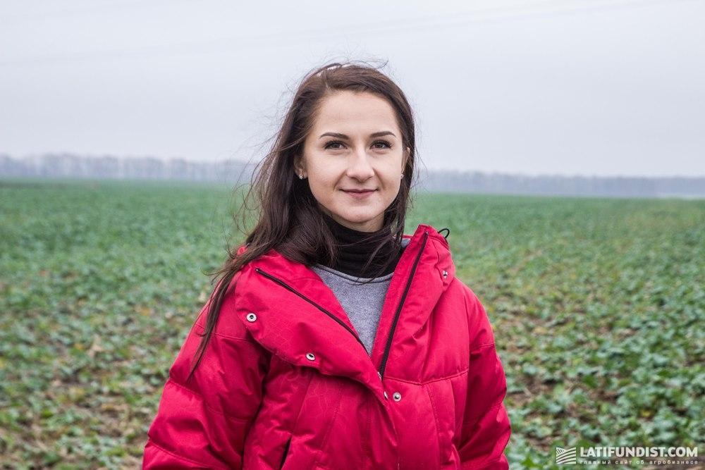 Александра Киричек, продакт-менеджер по рапсу и негибридным зерновым культурам компании «КВС-УКРАИНА»