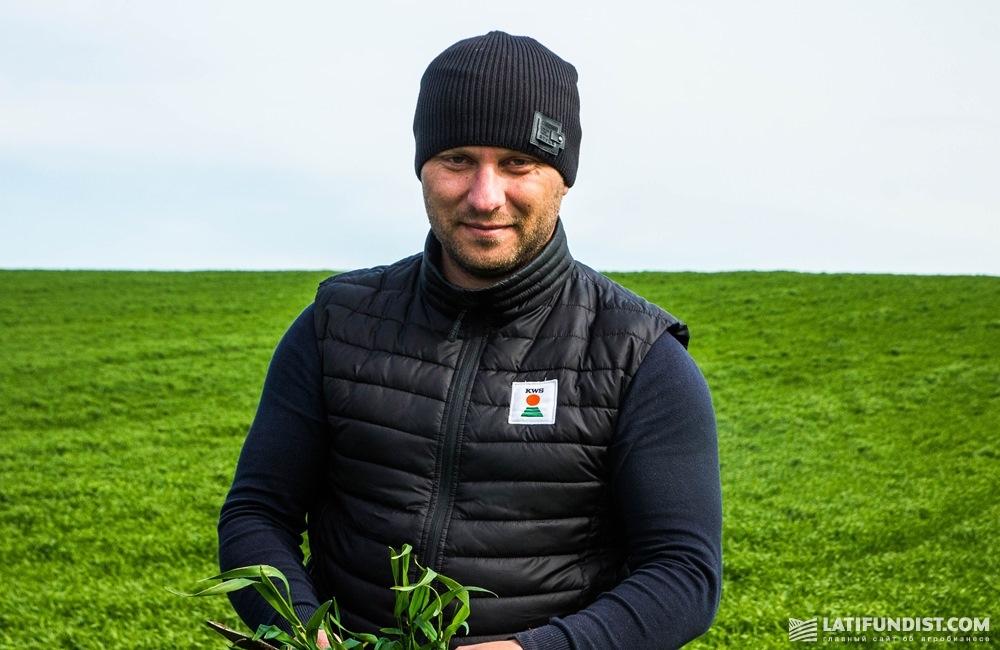 Святослав Гриневич, торговый представитель «КВС-УКРАИНА» по Западной Украине
