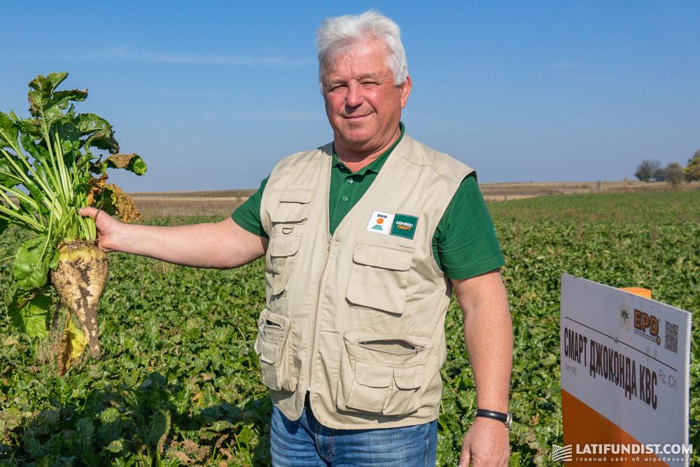 Петр Кутя, региональный директор «КВС-УКРАИНА» в Западном регионе