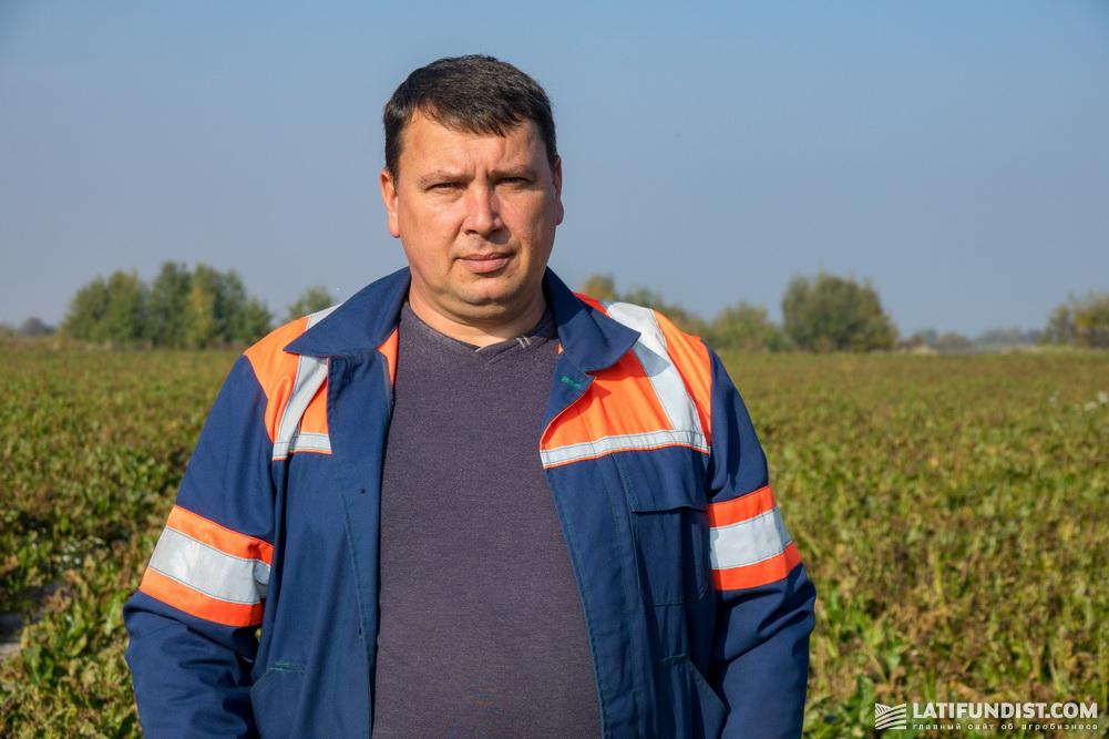 Орест Зубарь, руководитель производственного отделения «Батятичи»