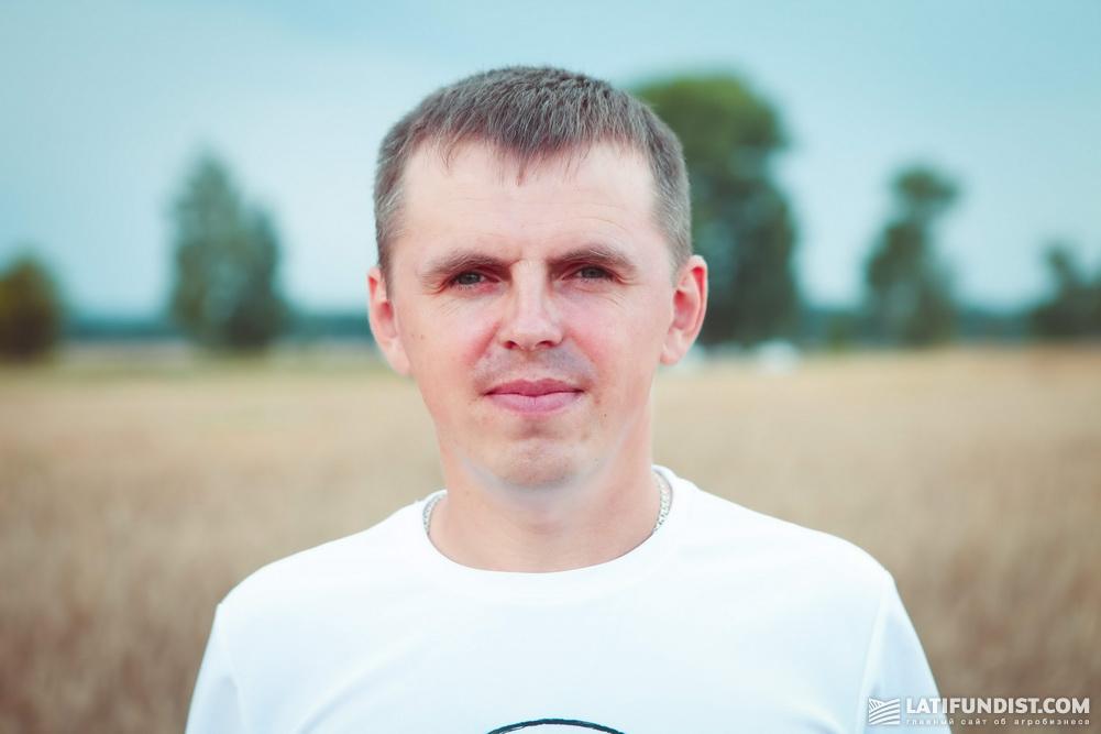 Дмитрий Лощаков, хозяин предприятия «Талисман-Агро»
