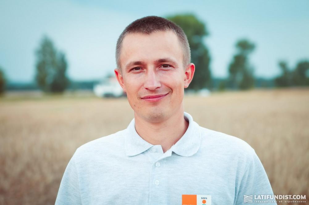 Руслан Круподеря, торговый представитель компании «КВС-УКРАИНА» в Черниговской, Сумской и Харьковской областях