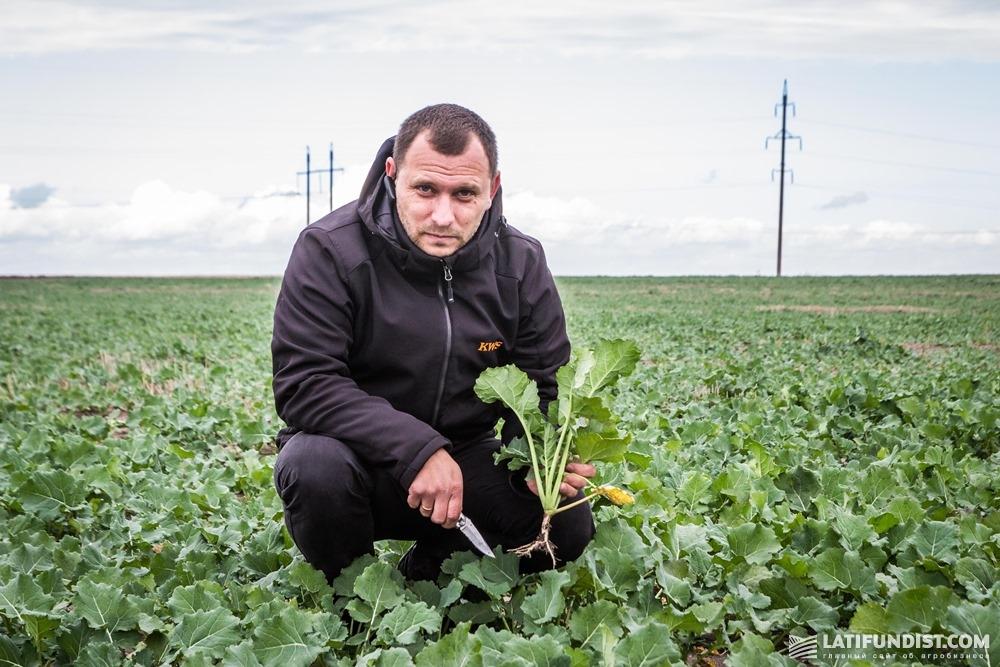 Святослав Гриневич, торговый представитель компании «КВС-УКРАИНА» в Западной Украине