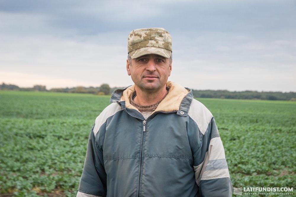 Владимир Кугиль, инженер и агроном ФХ «Соломия»