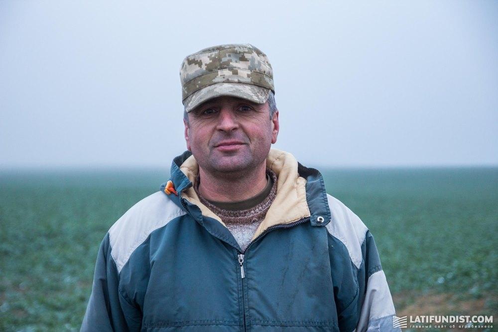 Владимир Кугиль, агроном ФХ «Соломия»