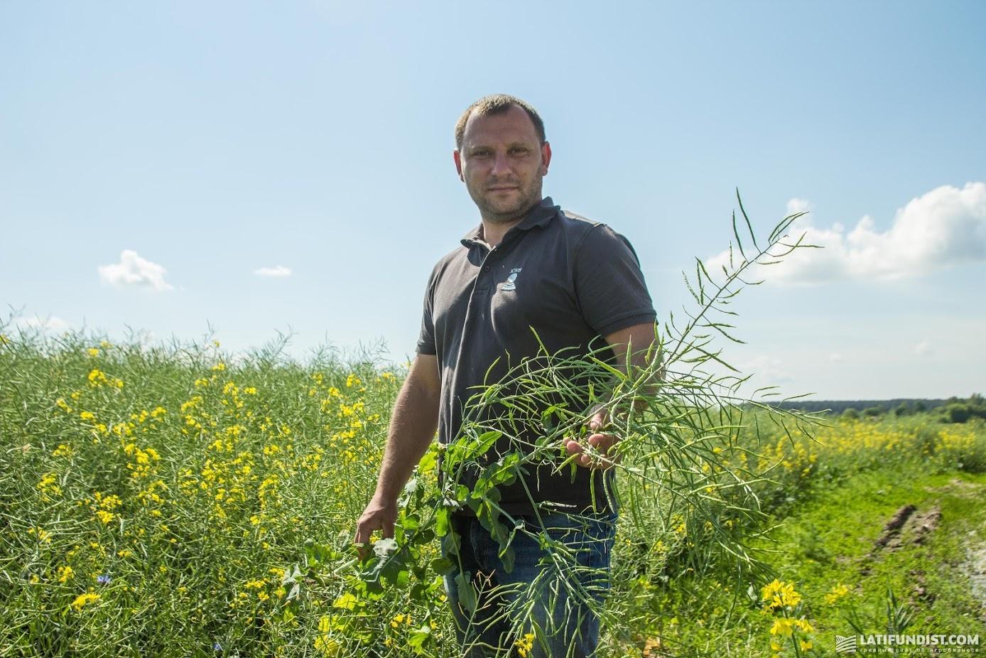 Святослав Гриневич, торговый представитель компании «КВС-УКРАИНА» по Западной Украине