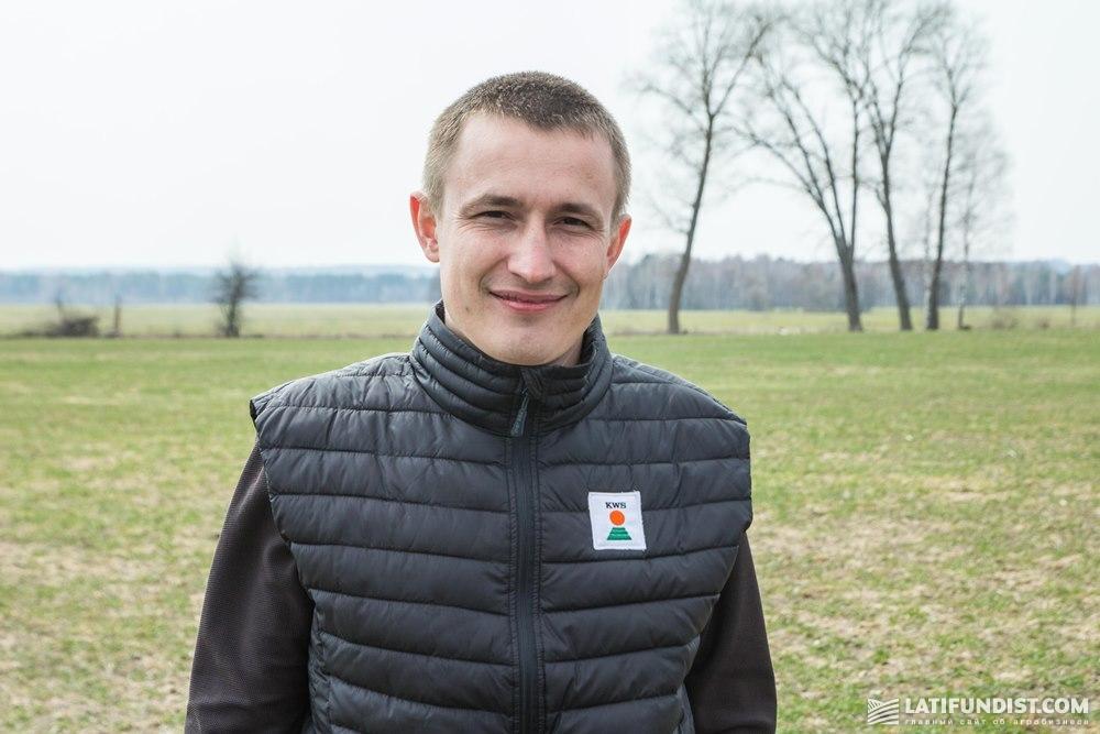 Руслан Круподеря, торговый представитель в Черниговской, Сумской и Харьковской областях компании «КВС-УКРАИНА»
