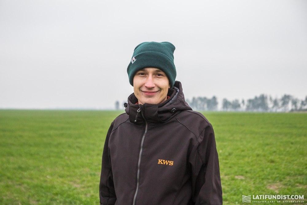 Руслан Круподеря, торговый представитель по зерновым культурам компании «КВС-УКРАИНА»