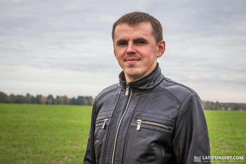 Дмитрий Лощаков, руководитель ФХ «Талисман-агро»