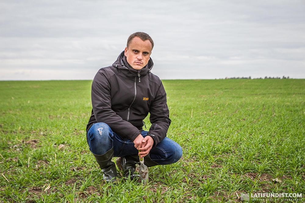 Игорь Давыдюк, менеджер по маркетингу и продукт-менеджер по зерновым культурам компании «КВС-УКРАИНА»